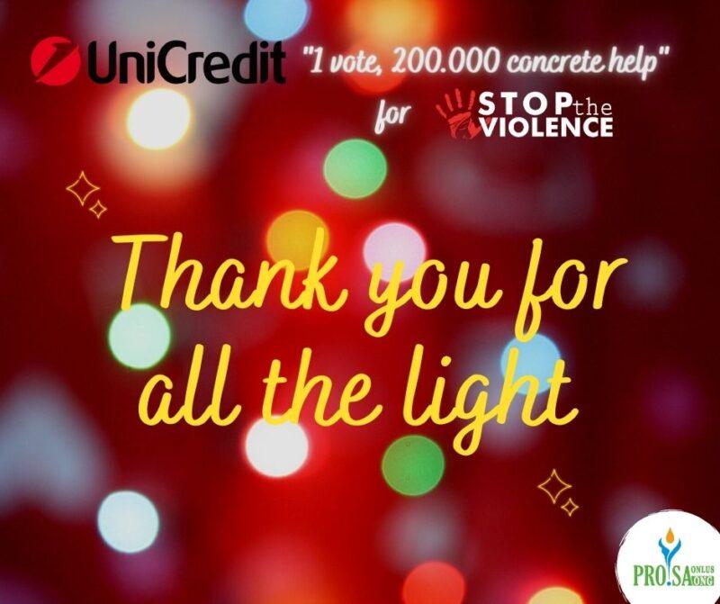 Unicreditt 2020 thank you
